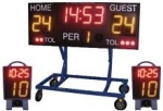 Wireless Water Polo Scoring System