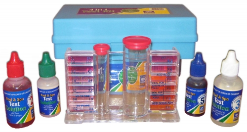 aussie gold pool test kit instructions